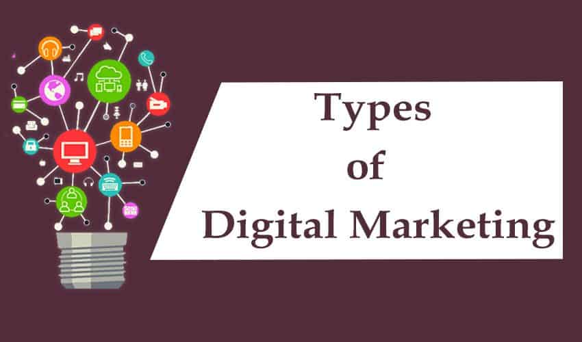Types of Digital Marketing 1