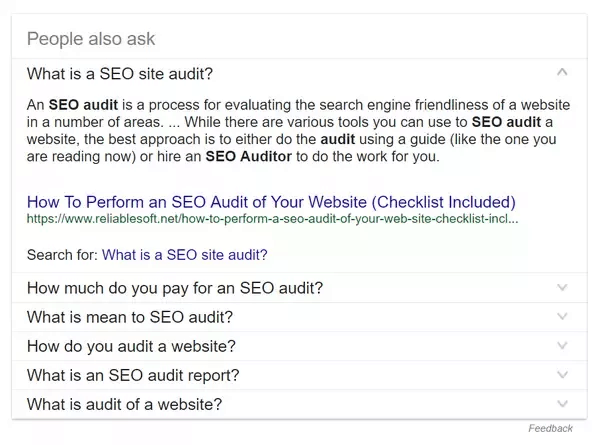 Related Questions - SEO Basics
