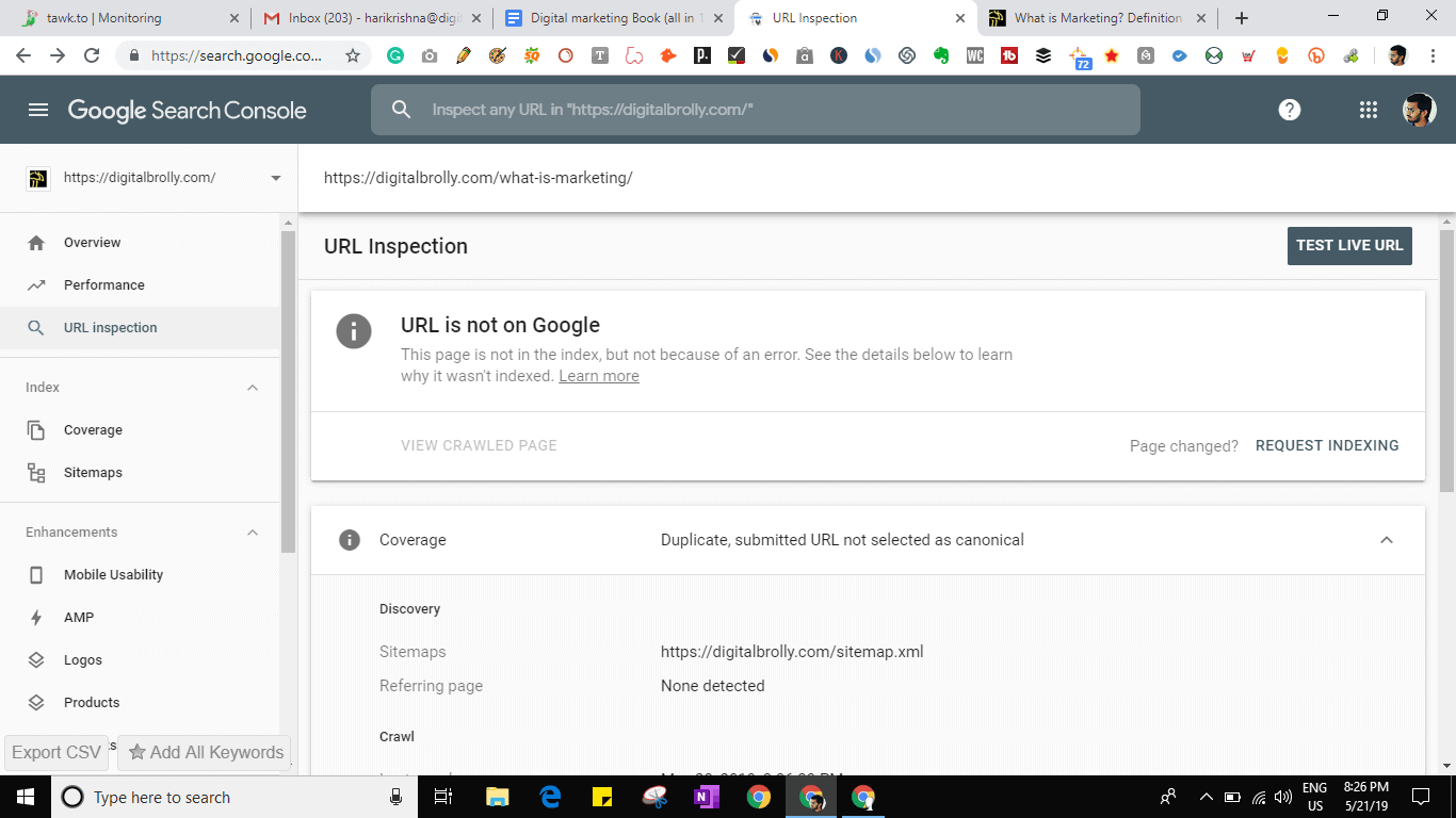 8. Google Web Master Tools 16