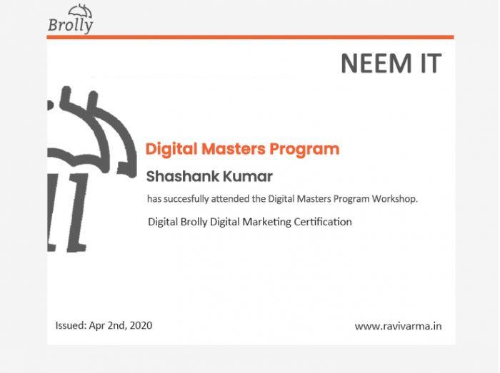 Digital Masters program